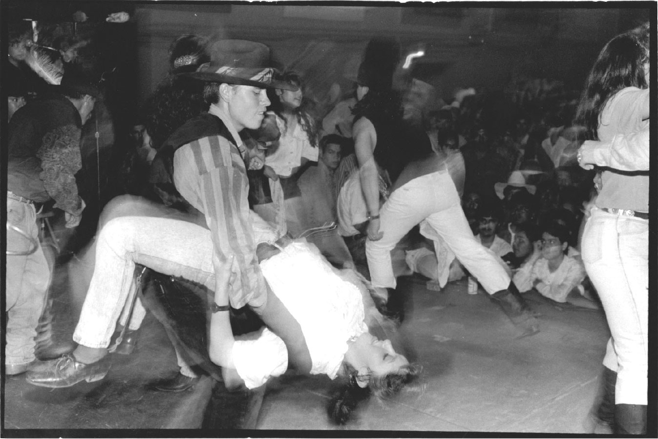 Dancing La Quebradita at the International Ballroom Doraville