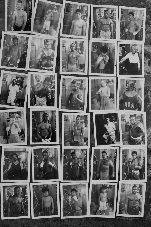 Polaroid portraits shot at the Doraville Boxing Gym