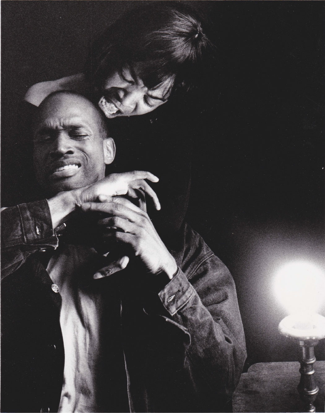 Kenny Leon and Carol Mitchell-Leon in Fool for Love at the Actors' Express